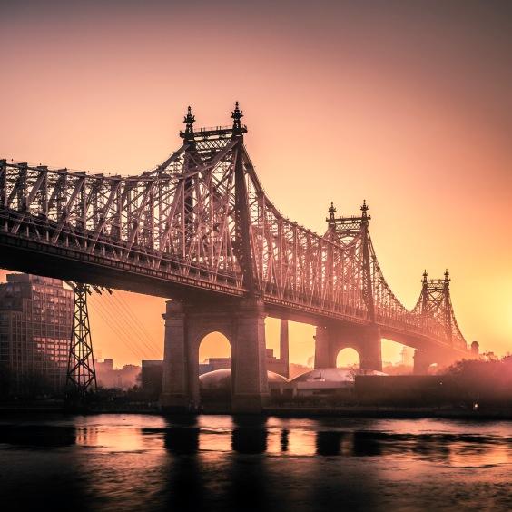 59th St Bridge Sunrise - Fine Art Photographer - Houston - Mabry Campbell