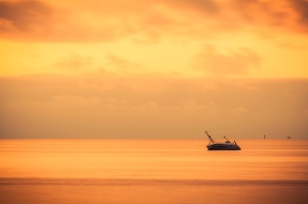 Beached Trawler - Fine Art Photographer - Houston - Mabry Campbell