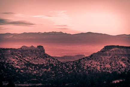 Between New Mexico Hills II - Fine Art Photographer - Houston - Mabry Campbell