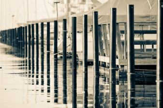Boat Slip Pilings - Mabry Campbell