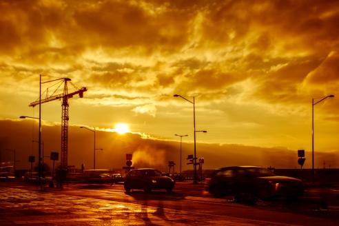 Burning Commute - Fine Art Photographer - Houston - Mabry Campbell