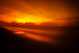 Burning-Dawn-Seascape-Along-The-Texas-Coast-Mabry-Campbell