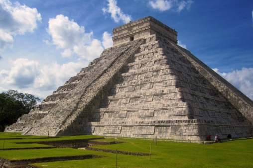 Great Pyramid of Chichen Itza - Mabry Campbell