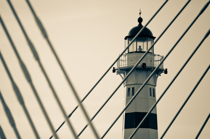 Crossed Lighthouse - Mabry Campbell