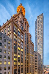 Esperson and Chase Tower - Commercial Architectural Photographer - Houston - Mabry Campbell
