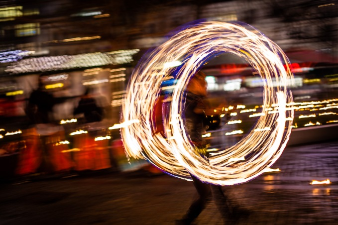 Fire Dancer - Mabry Campbell