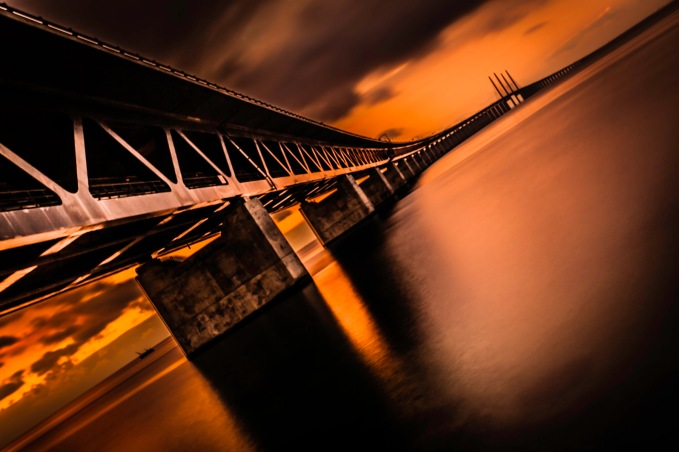 Heating Up Öresundsbron - Fine Art Photographer - Houston - Mabry Campbell