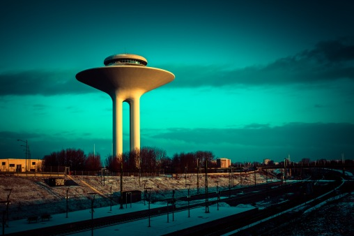 Hyllie Water Tower - Mabry Campbell