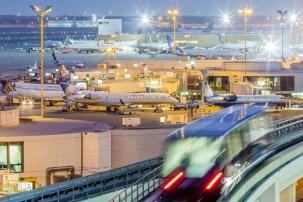 IAH Terminal Train I - Fine Art Photographer - Houston - Mabry Campbell