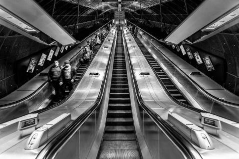 London Bridge Station Escalators - Mabry Campbell