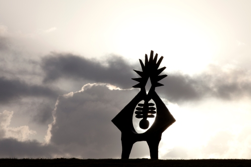 Miller Sculpture Silhouette - Mabry Campbell