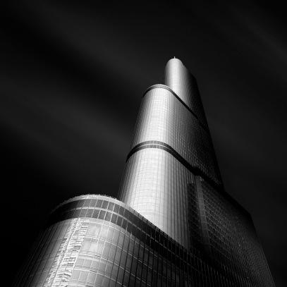 Molten V - Trump Tower Chicago - Fine Art Photographer - Houston - Mabry Campbell