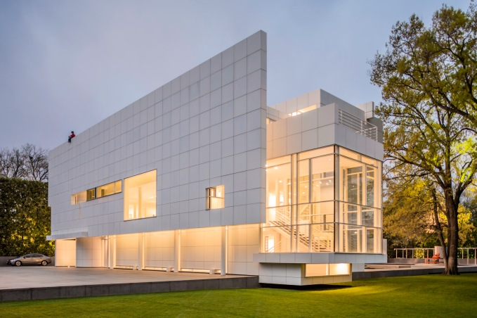 Morning At Rachofsky House - Architecural Photographer - Houston - Mabry Campbell