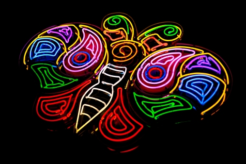 Neon Butterfly - Mabry Campbell