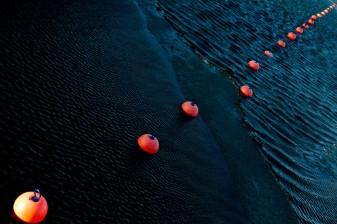 Orange Sea Buoys - Mabry Campbell