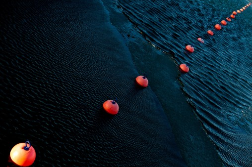 Orange Sea Buoys - Mabry Campbell