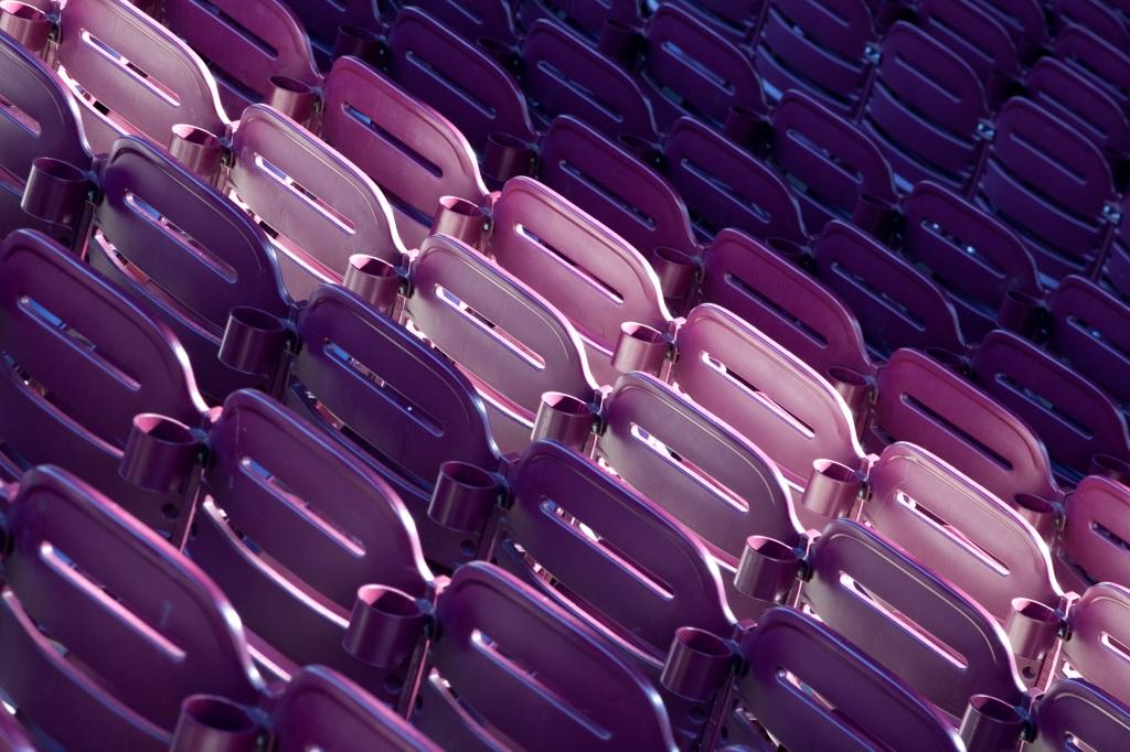 Purple Seats - Mabry Campbell
