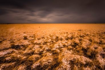 Storm Over An Icelandic Field - Fine Art Photographer - Houston - Mabry Campbell