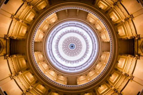 Texas Capitol Dome - Architectural Photographer - Houston - Mabry Campbell