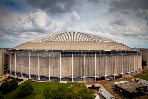 The Houston Astrodome - Commercial Architectural Photographer - Houston - Mabry Campbell