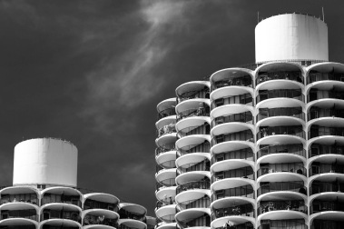 Top Of Marina City - Fine Art Photographer - Houston - Mabry Campbell