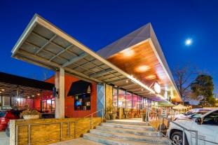 White Oak Corner Detail II - Architectural Photographer - Houston - Mabry Campbell