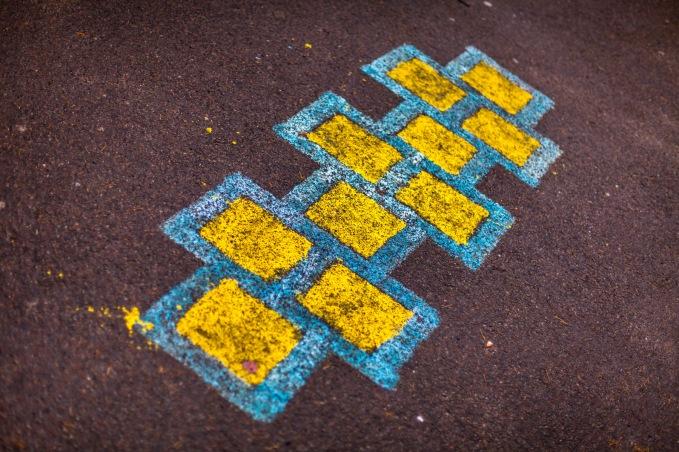 Yellow Squares