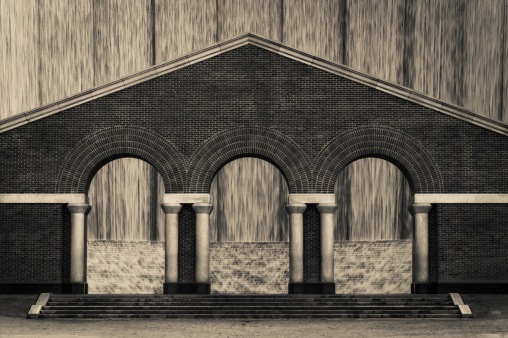 Arches At The Waterwall
