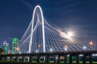 Margaret Hunt Hill Bridge Starman - Architectural Photographer - Houston - Mabry Campbell