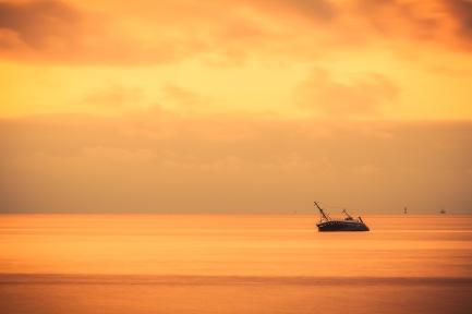 Beached Trawler - Mabry Campbell