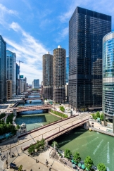 Marina-City-And-Chicago-River-Cityscape-Mabry-Campbell