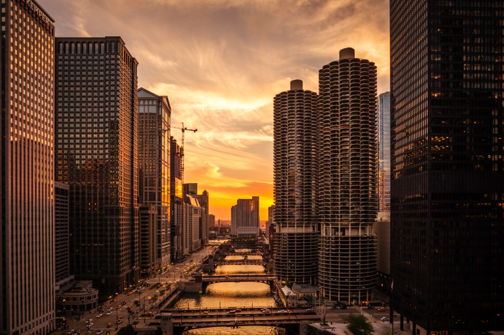 Chicago-River-Sunset-Mabry-Campbell