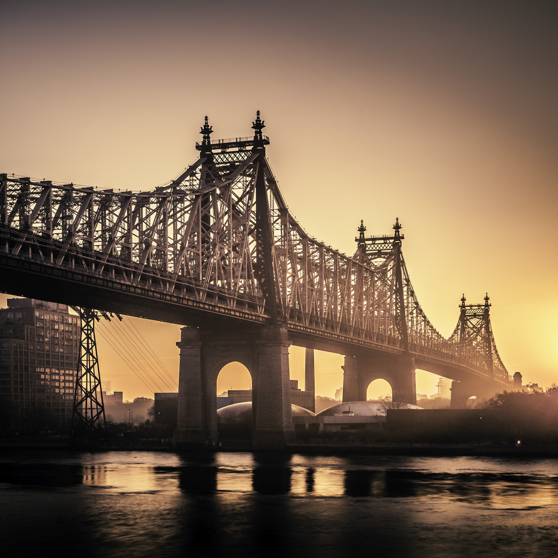 Queensboro-Bridge-Sunrise-Mabry-Campbell
