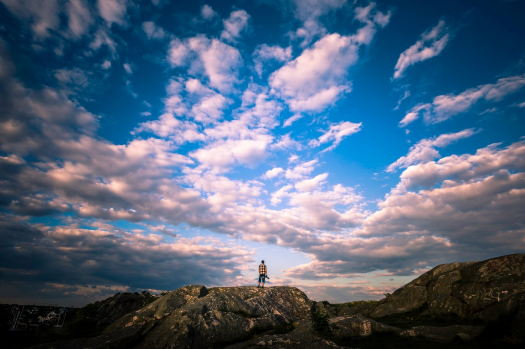 Sky Watcher - RAW file with basic Lightroom white balance adjustments - Mabry Campbell