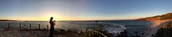 My Lady ~ Sunset Panorama - Fine Art Photographer - Houston - Mabry Campbell