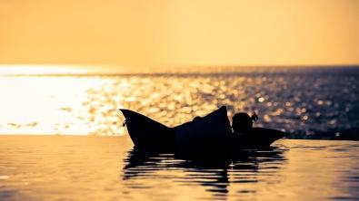 Sunset Swimming Punta Mita - Mabry Campbell