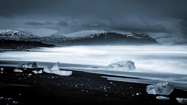 Diamond Beach ~ Jökulsárlón ~ Iceland Coast I - Mabry Campbell