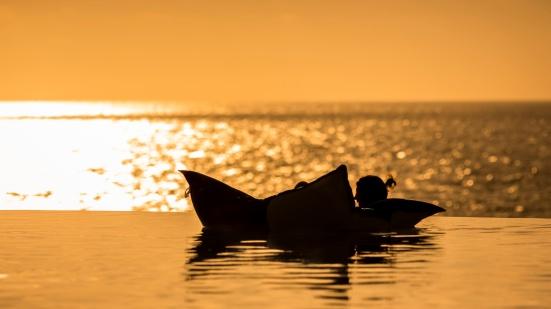 Enjoying-An-Infinity-Pool-At-Sunset-Mabry-Campbell