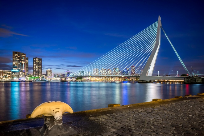 Erasmusbrug-From-The-Cruise-Ship-Terminal-Mabry-Campbell
