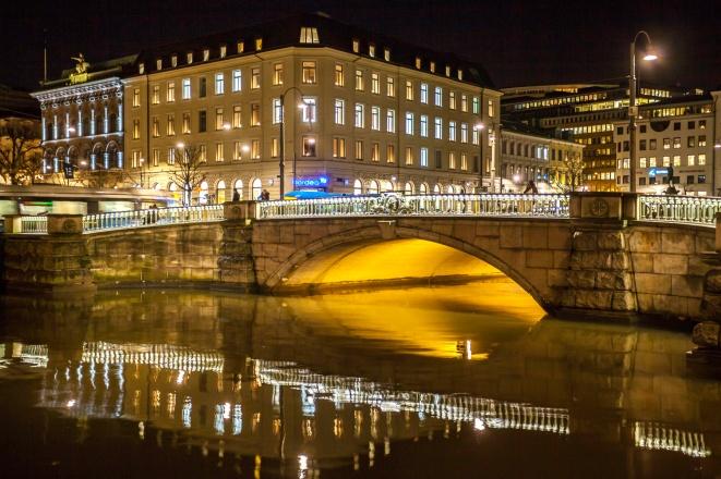 Gothenburg-Canal-Bridge-at-Night-Mabry-Campbell