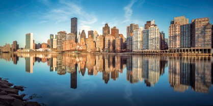 I Am Midtown East ~ Golden Skyline - Mabry Campbell