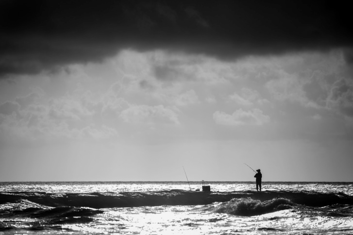 Jetty Fisherman - Mabry Campbell
