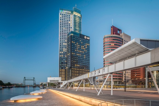 Maastoren-Building-Rotterdam-And-1241-Art-Bridge-Mabry-Campbell