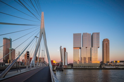 Rotterdam-Skyline-from-Erasmus-Bridge-Mabry Campbell