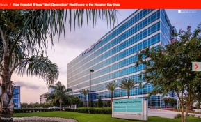 "New-Hospital-Brings-""Next-Generation""-Healthcare-to-the-Houston-Bay-Area"