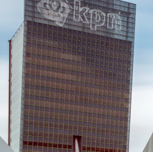 KPN Telecom Tower - cleaned windows