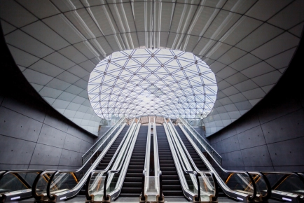 Grand-Escalators-At-Triangeln-Station-Mabry-Campbell
