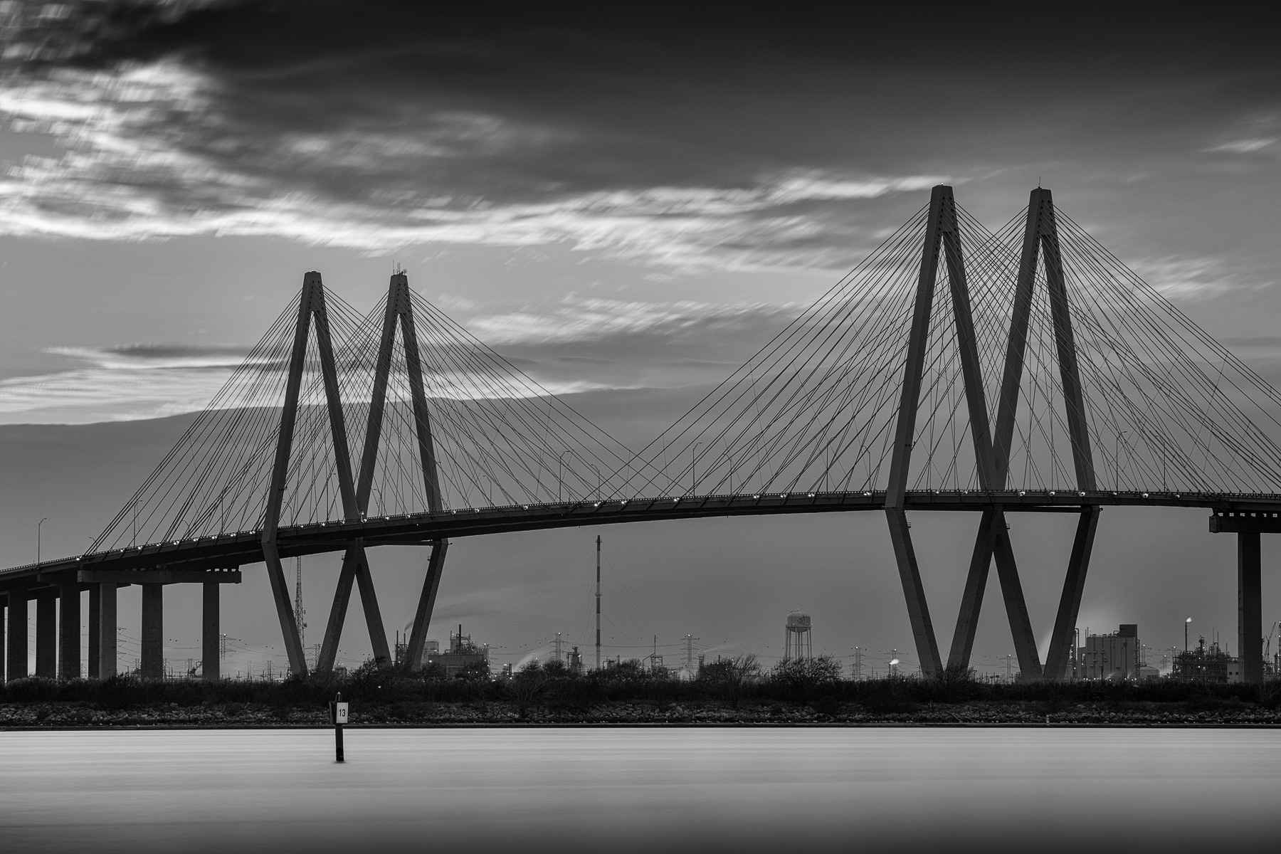 fred hartman bridge and houston ship channel