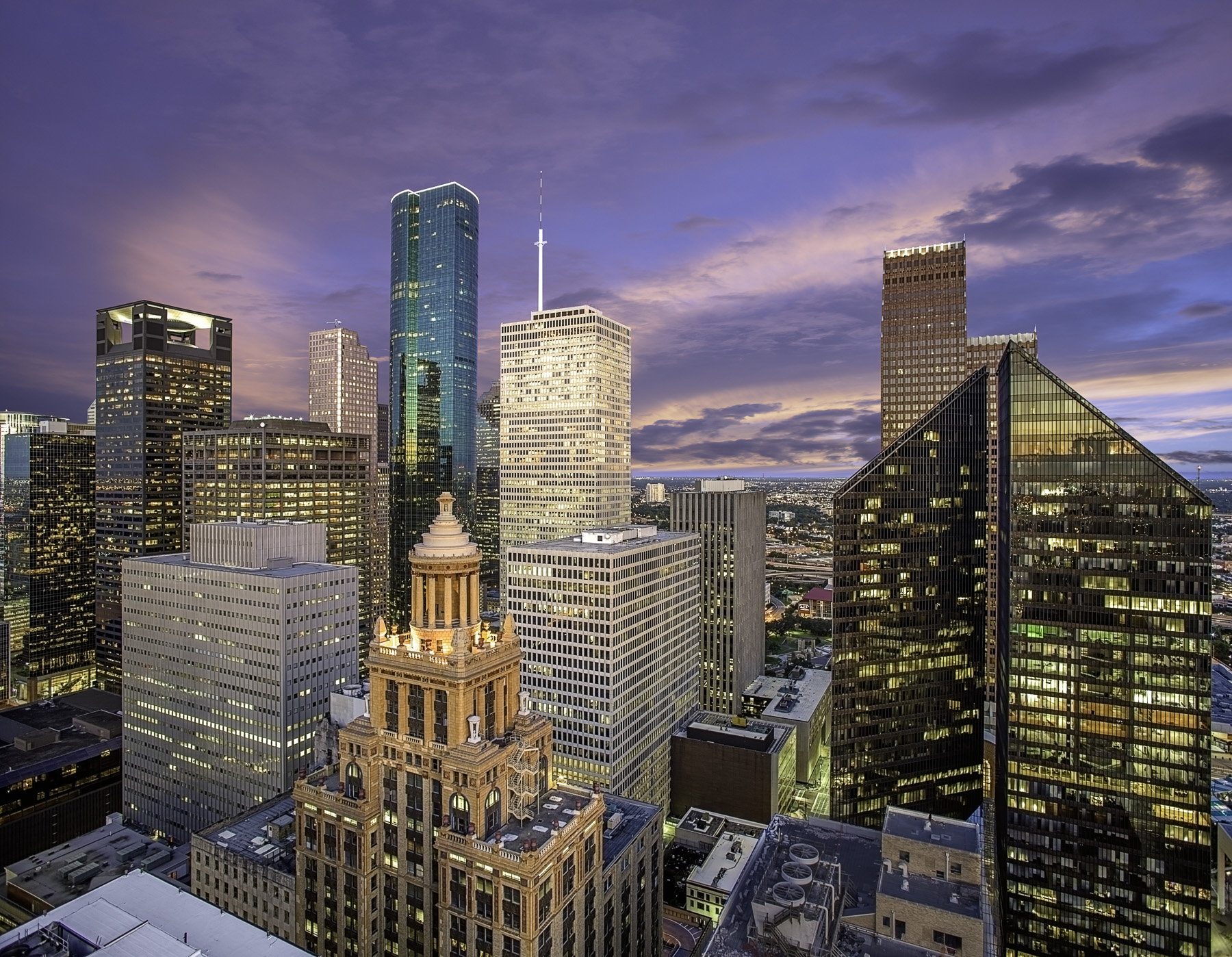 houston skyline sunrise west side downtown mabry campbell photo blog. Black Bedroom Furniture Sets. Home Design Ideas