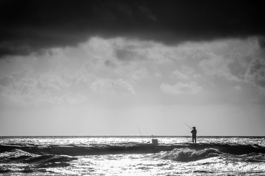 Jetty-Fisherman-Under-A-Galveston-Storm-Mabry-Campbell